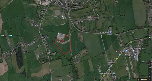 c. 10 ac./ 4.05 ha., Agricultural lands, Slade Lane, Saggart, Co. Dublin