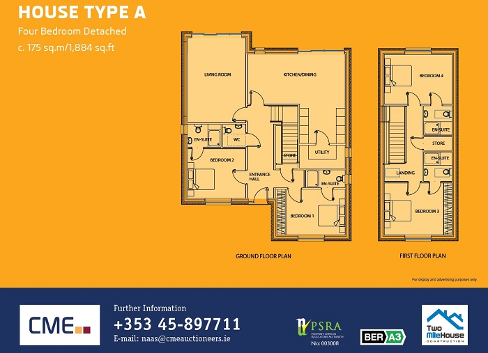 House Type A Floor Plans