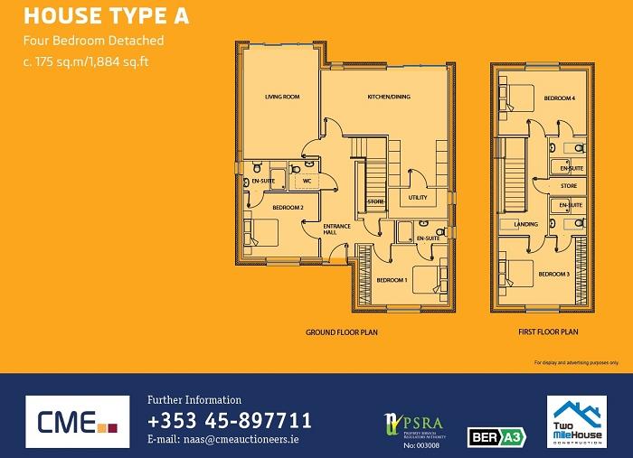 House Type A Floor Plans