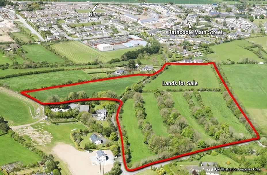 c.20 Ac/ 8.1 Ha, Agricultural Lands, Rathcoole, Co. Dublin
